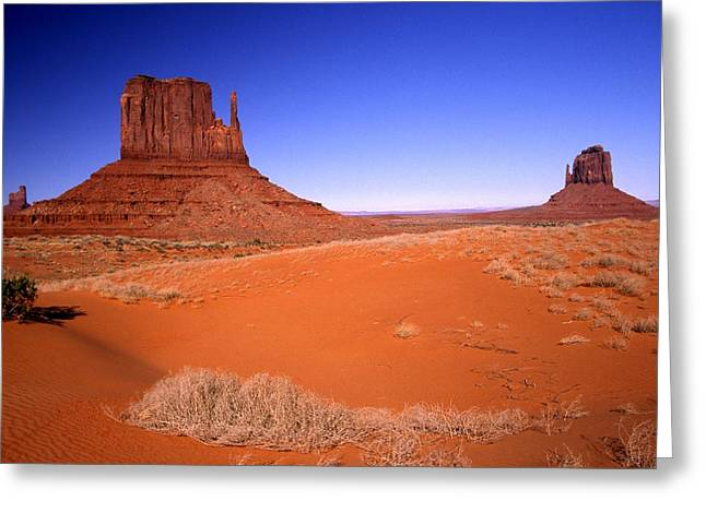 The Mittens Monument Valley Arizona Greeting Card