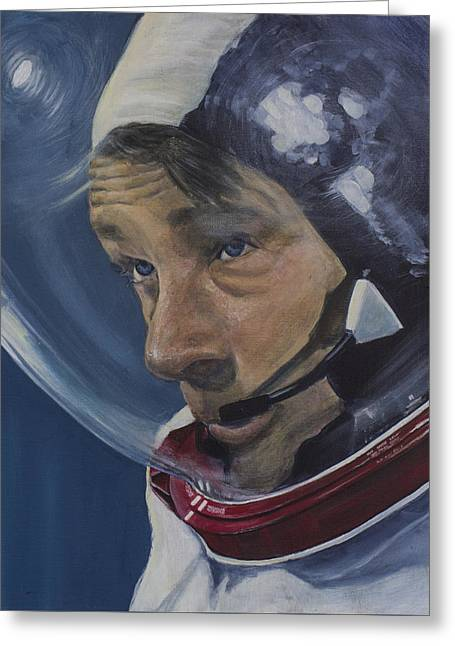 The Moment Before- Gene Cernan Greeting Card