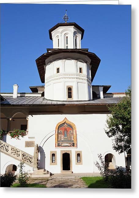 The Monastery Of Horezu (hurezi, Horez Greeting Card
