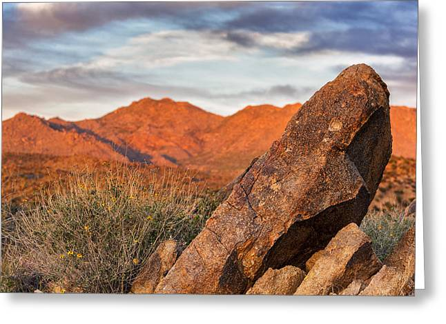 Greeting Card featuring the photograph The Monolith by Anthony Citro
