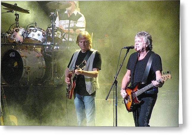 The Moody Blues In Concert Greeting Card