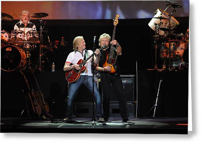 The Moody Blues Greeting Card