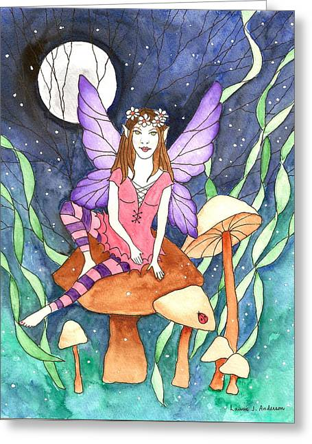 The Moon Fairy Greeting Card