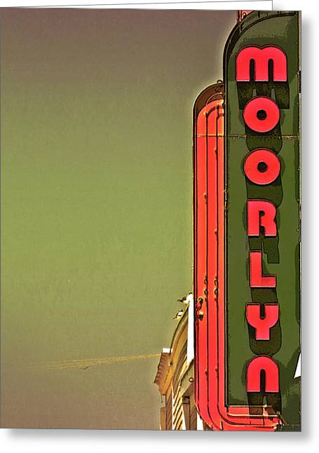 The Moorlyn At The Shore  Greeting Card