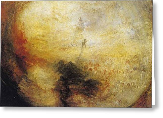 The Morning After The Deluge 1843 Greeting Card by J M W Turner