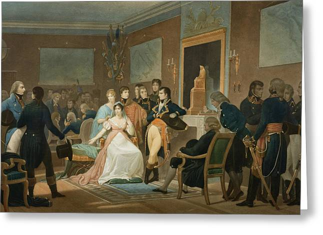 The Morning Of The 18th Brumaire 1799 Greeting Card