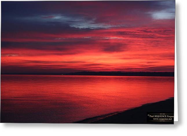 The Morning View 1 Greeting Card by Paul SEQUENCE Ferguson             sequence dot net