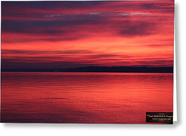 The Morning View 2 Greeting Card by Paul SEQUENCE Ferguson             sequence dot net