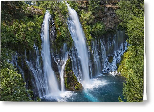 The Most Beautiful Waterfall Greeting Card