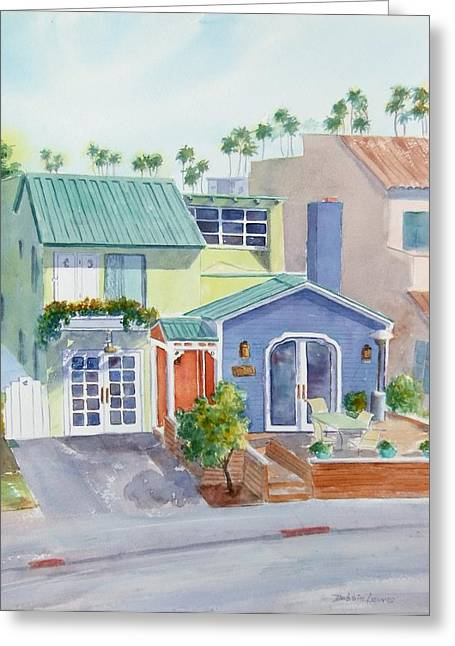 The Most Colorful Home In Belmont Shore Greeting Card