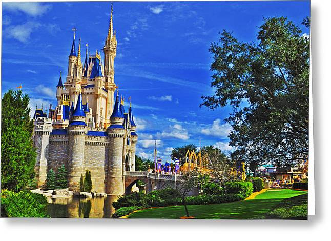 The Most Magical Of Kingdoms Greeting Card by Rachael M