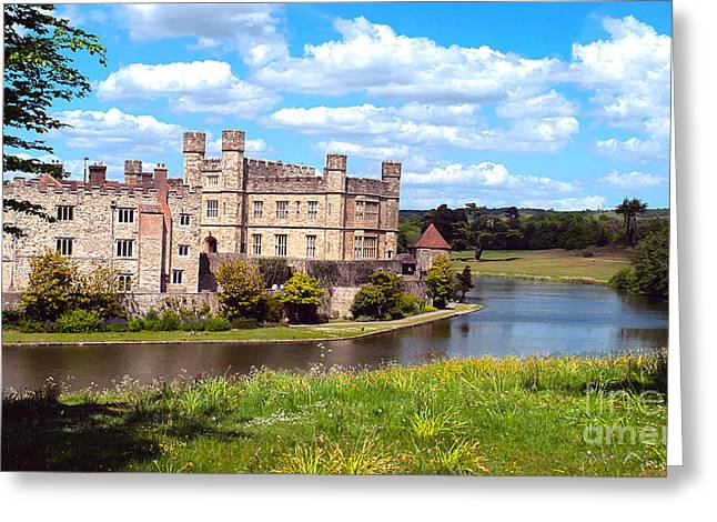 The Most Romantic Castle In England Greeting Card