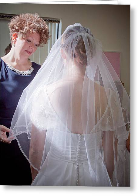The Mother Of The Bride Greeting Card