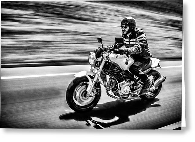 The Motorcycle Diaries Greeting Card