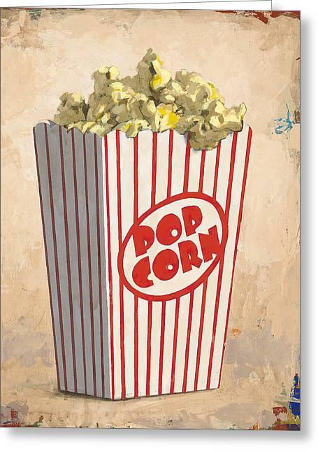 The Movies Greeting Card by David Palmer