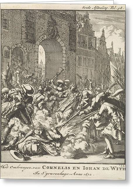 The Murder Of The Brothers De Witt, 1672 Greeting Card