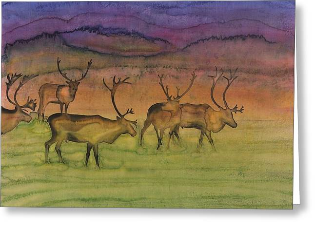 The Mystery Of Migration Greeting Card by Carolyn Doe
