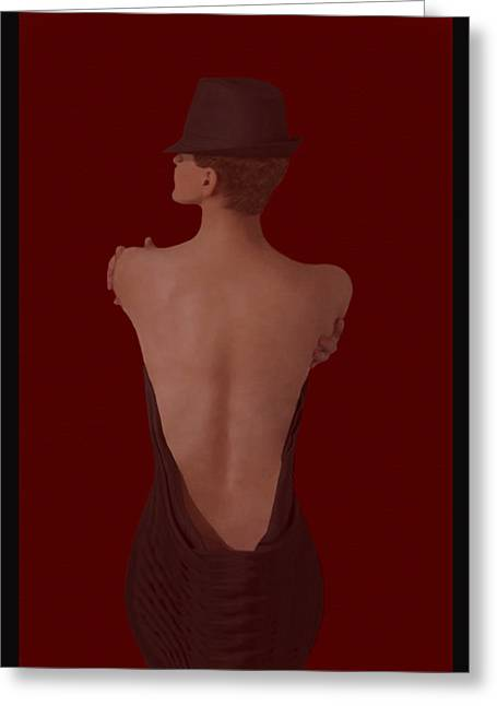 Ultimate Sensual Elegance #3  Greeting Card