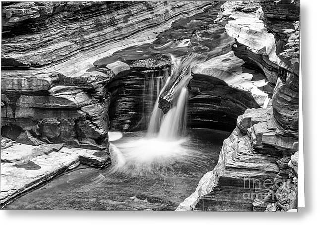 The Narrows Watkins Glen Greeting Card