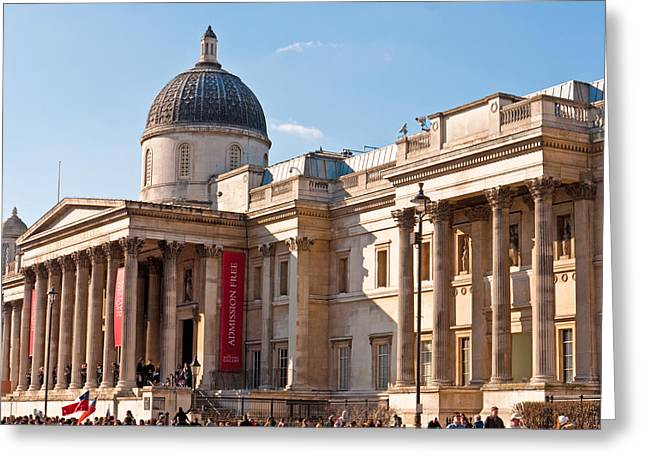 The National Gallery London Greeting Card