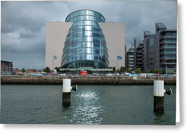 The National Irish Conference Centre Greeting Card by Panoramic Images