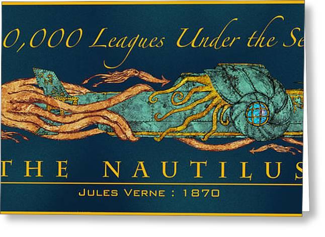 The Nautilus Greeting Card by William Depaula