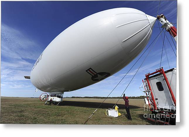 The Navys Mz-3a Manned Airship Greeting Card