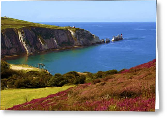 The Needles Greeting Card