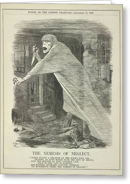 The Nemesis Of Neglect Greeting Card by British Library