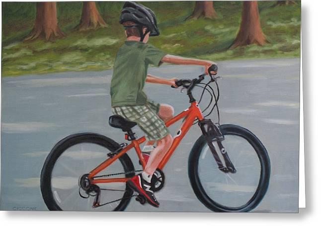 The New Bike Greeting Card