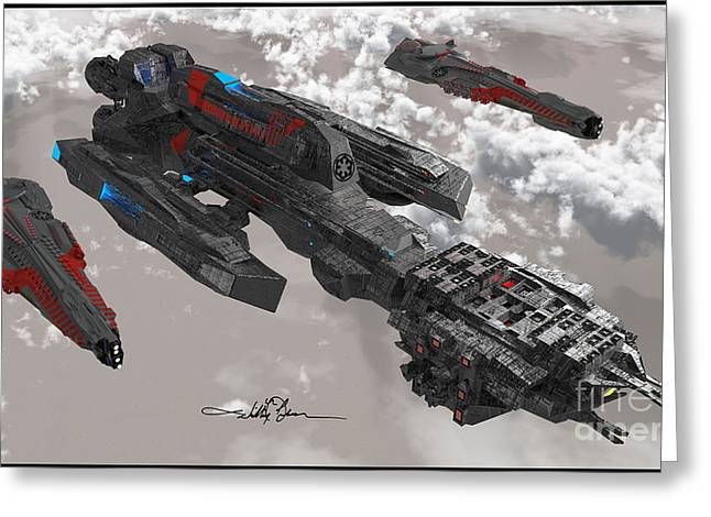 The New Imperial Fleet Greeting Card