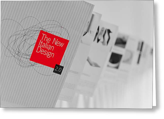 The New Italian Design Greeting Card by Pablo Lopez