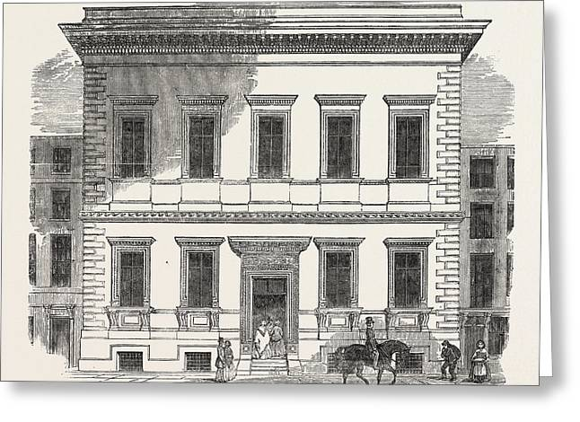 The New Museum Of Practical Geology, Jermyn Street Greeting Card by English School