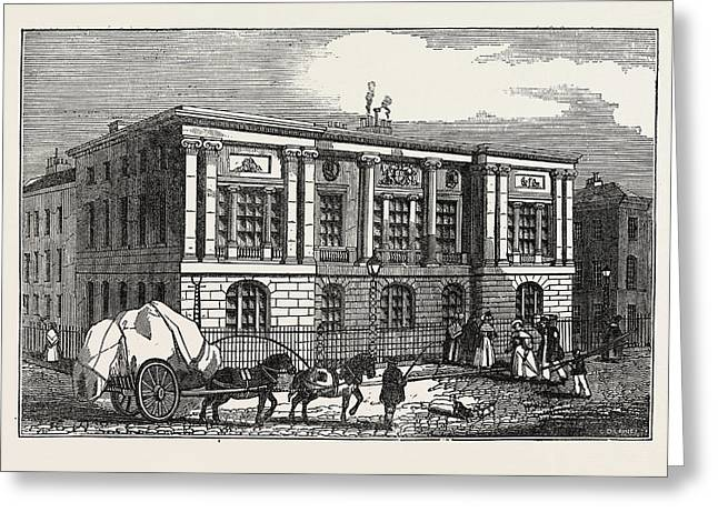 The New Trinity House, On Tower Hill, Uk, Britain Greeting Card by English School