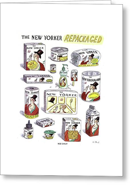 The New Yorker Repackaged Greeting Card by Roz Chast