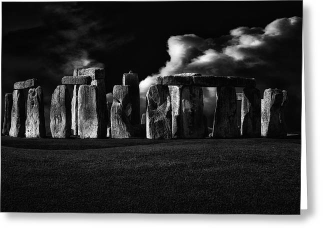 The Night Of Stonehenge Greeting Card