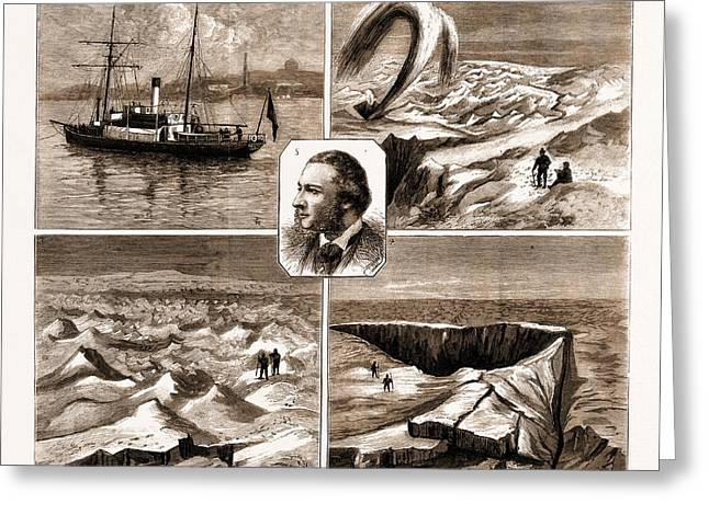 The Nordenskjold Greenland Expedition, 1883 1. The Sophia Greeting Card