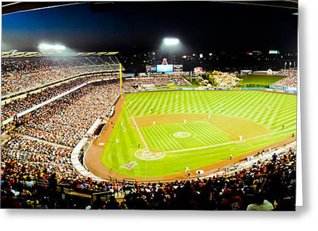 The Nose Bleeds  Greeting Card by Andrew Raby