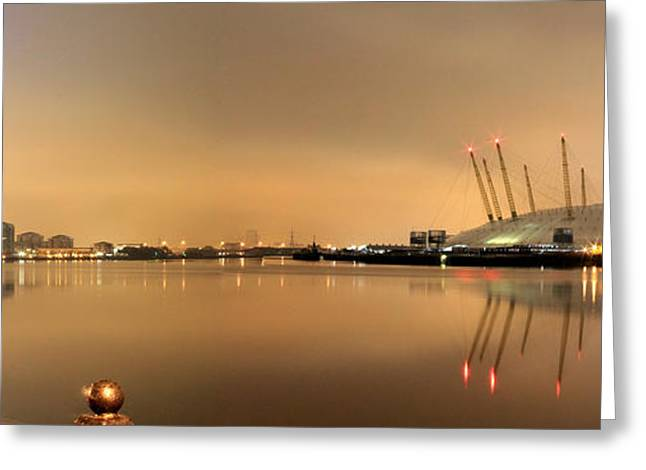 The O2 Arena Greeting Card by Size X