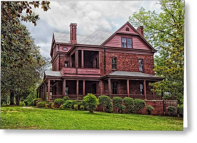 The Oaks - Home Of Booker T Washington Greeting Card