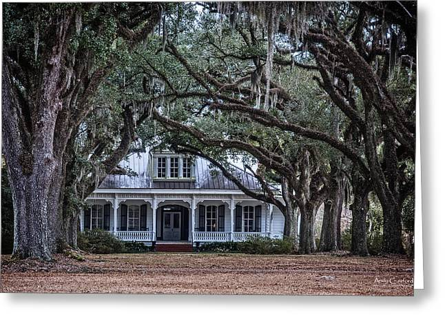 The Oaks Plantation Greeting Card