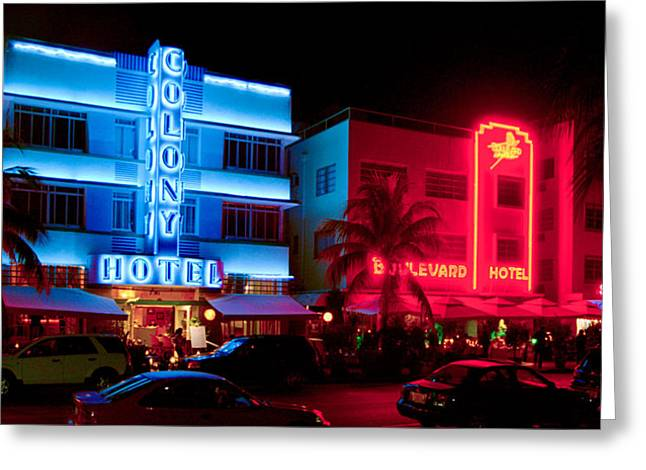 The Ocean Drive Greeting Card