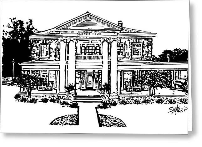 The Ogletree House Greeting Card