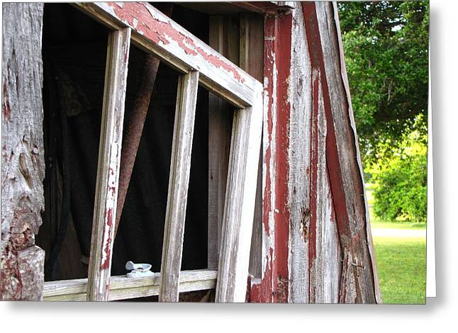 Greeting Card featuring the photograph The Old Barn by Beth Vincent