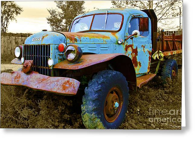 The Old Beater Greeting Card by John Debar