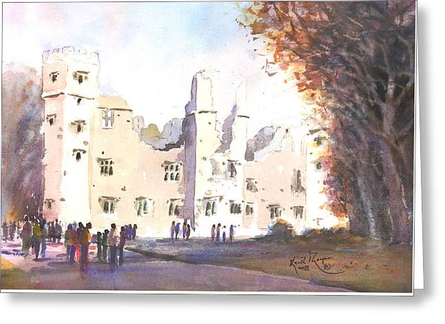 The Old Castle Mallow County Cork Greeting Card by Keith Thompson