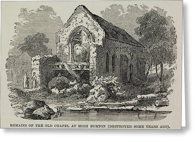 The Old Chapel At High Burton Greeting Card