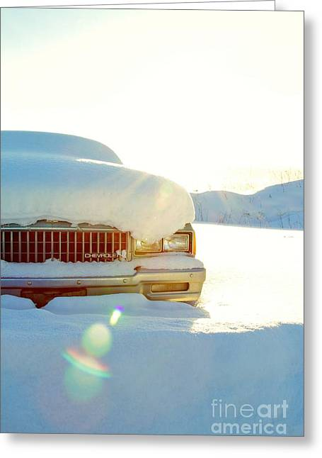The Old Chevy Greeting Card by Alanna DPhoto