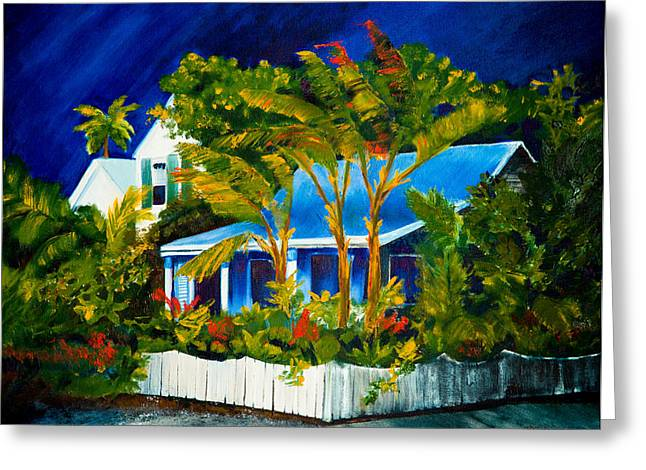 The Old Conch House Greeting Card