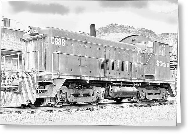 The Old Coors Switcher Greeting Card by J Griff Griffin
